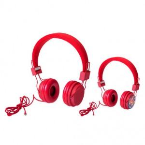 Sluchátka, červená