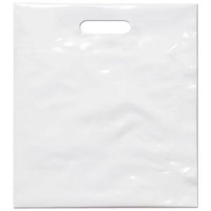 PE taška 45x50 cm, bílá