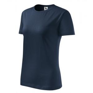 Classic New tričko dámské námořní modrá M