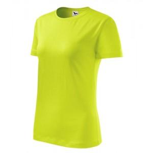 Classic New tričko dámské limetková XS