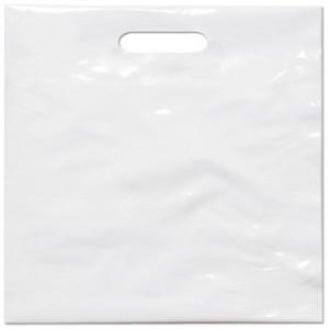 PE taška 55x55 cm, bílá