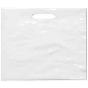 PE taška 65x55 cm, bílá