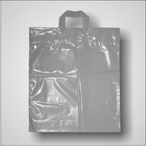 PE taška 40x46 cm, stříbrná
