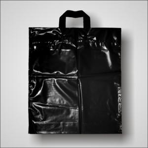 PE taška 40x46 cm, černá