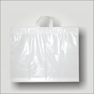 PE taška 57x45 cm, bílá