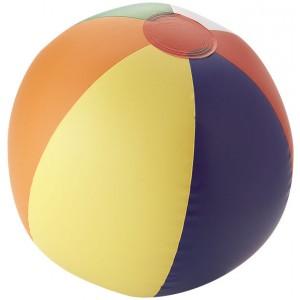 Pevný plážový míč Rainbow