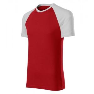 Duo tričko unisex červená 3XL