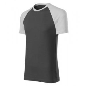 Duo tričko unisex ledově šedá XL