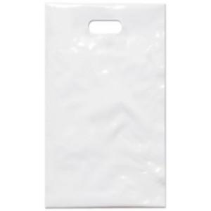PE taška 17x29 cm, bílá