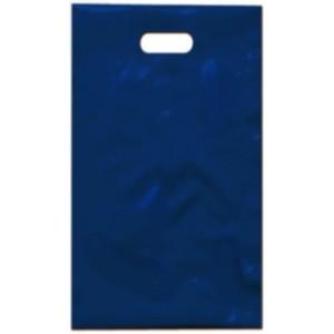 PE taška 17x29 cm, modrá
