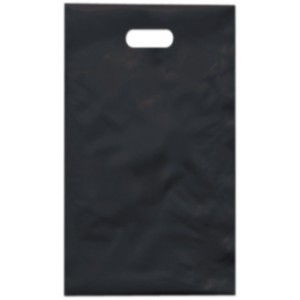 PE taška 17x29 cm, černá