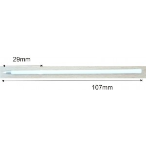 náplň X20, 107mm bílá - 0,7mm