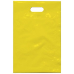 PE taška 20x30 cm, žlutá