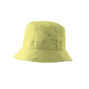 Dětský klobouk jemná zelená