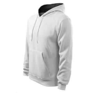 Hooded Sweater mikina pánská bílá 2XL