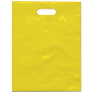 PE taška 27x36 cm, žlutá