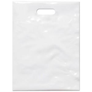 PE taška 30x40 cm, bílá