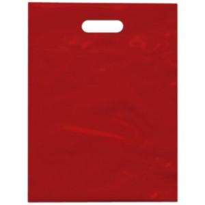 PE taška 30x40 cm, červená