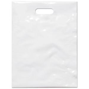 PE taška 35x46 cm, bílá