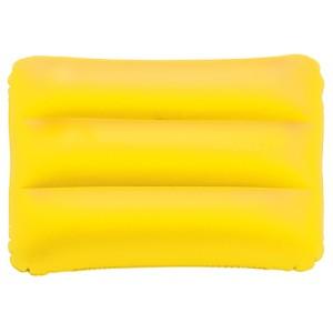 Nafukovací polštářek, žlutá