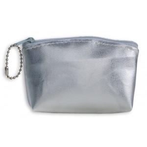 Kosmetická taška, stříbrná