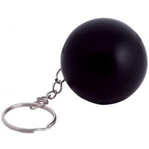 Antistresový přívěšek na klíče, černá