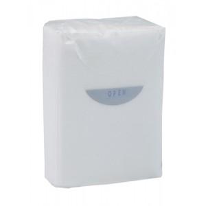 Papírové ubrousky, bílá