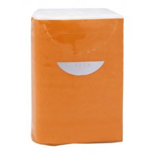 Papírové ubrousky, oranžová