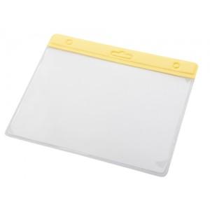 Identifikační visačka, žlutá