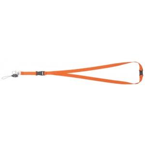 Šňůrka na krk, oranžová