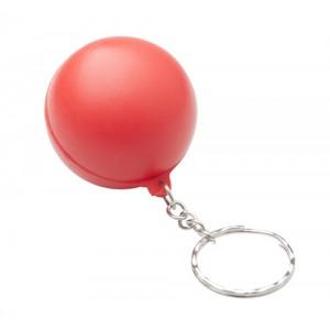 Antistresový přívěšek na klíče, červená