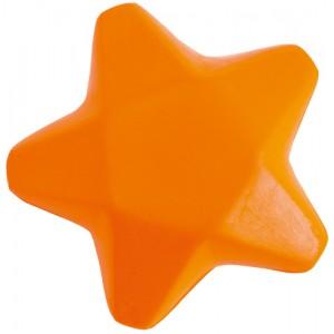 Antistresová hvězda, oranžová