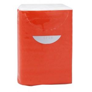Papírové ubrousky, červená