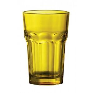 Skleničky na pití, žlutá