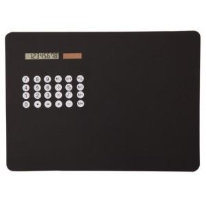 Podložka pod myš s kalkulačkou, černá