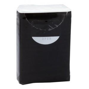 Papírové ubrousky, černá