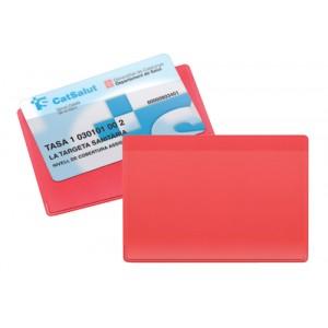 Obal na kreditní karty, červená