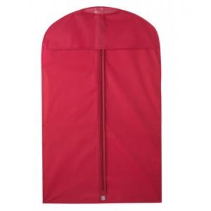 Vak na obleky, červená