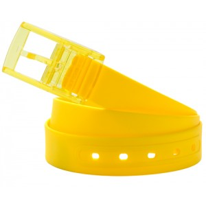 Silikonový opasek, žlutá