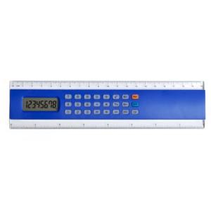 Kalkulačka s pravítkem, královská modrá
