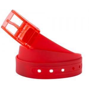 Silikonový opasek, červená