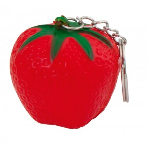 Antistresová klíčenka, červená