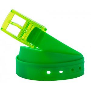 Silikonový opasek, zelená