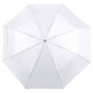 Skládací deštník, bílá
