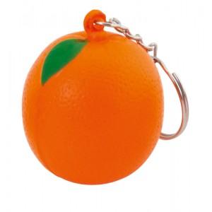Antistresová klíčenka, oranžová