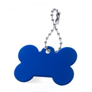 Přívěšek psí známka, královská modrá