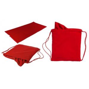 Pytlík na ručník, červená