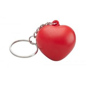 """Klíčenka antistres """"srdce"""", červená"""