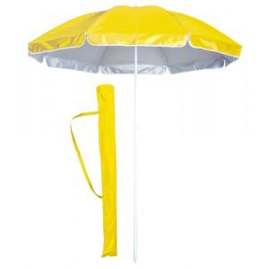 Plážový slunečník, žlutá
