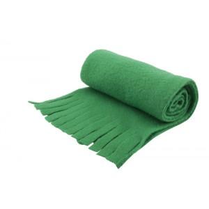 Fleecový šátek, zelená